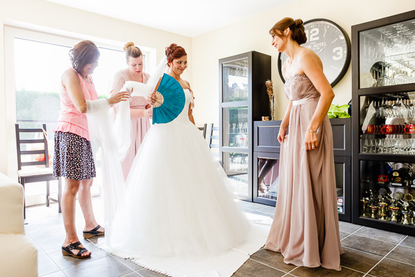 Hochzeitsfotografie - Getting Ready Shootings