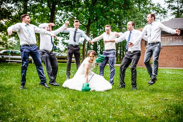 Hochzeitsfotografie - ausgefallene Hochzeitsbilder